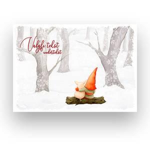 Bilde av Veggbilde - Julelandskap